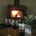 Ivybrook Vineyard Cottage Provides Luxury McLaren Vale Accommodation with Fireplace